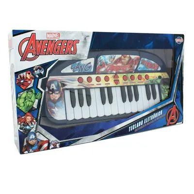 Teclado Eletrônico Vingadores - Marvel Avengers - Toyng
