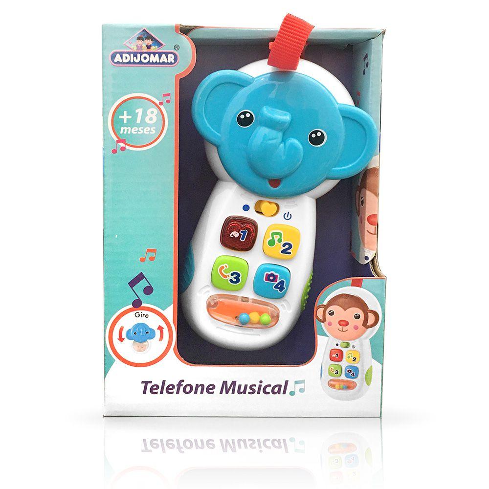 Telefone Musical - Elefantinho - Adijomar