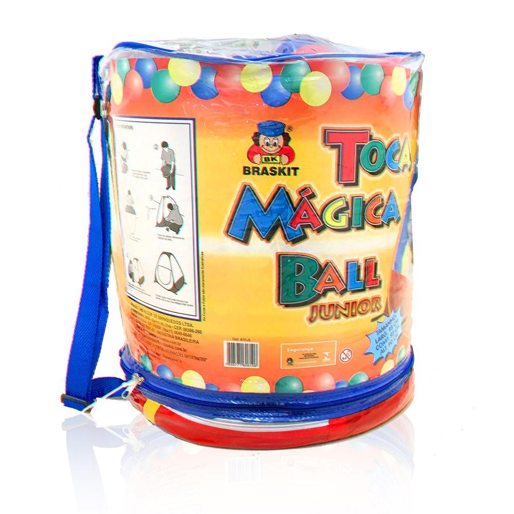 Toca Mágica - Ball Junior - Com 100 Bolinhas - Braskit