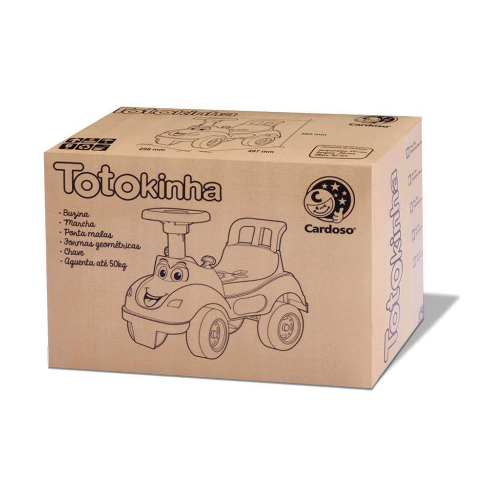 Totokinha Rosa - Primeiros Passos -  Cardoso Brinquedos