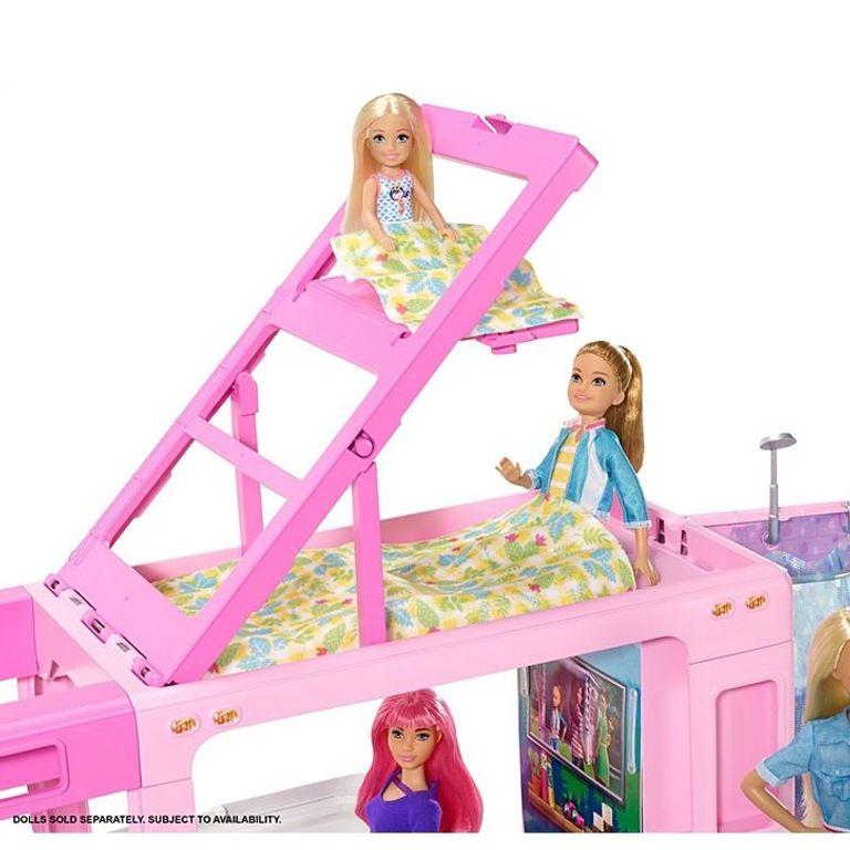 Trailer dos Sonhos 3 em 1  - Barbie- Mattel