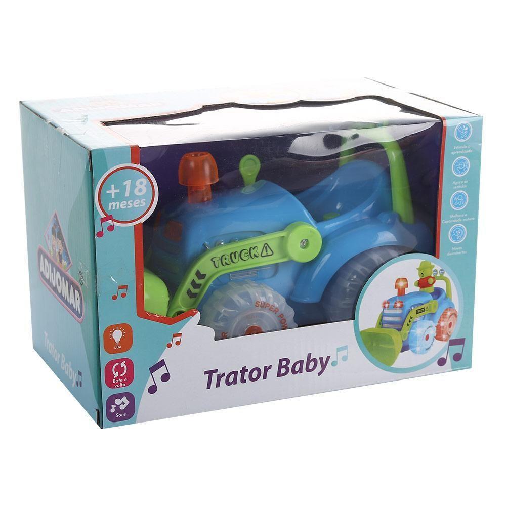 Trator Baby - Com Som e Luz - Adijomar