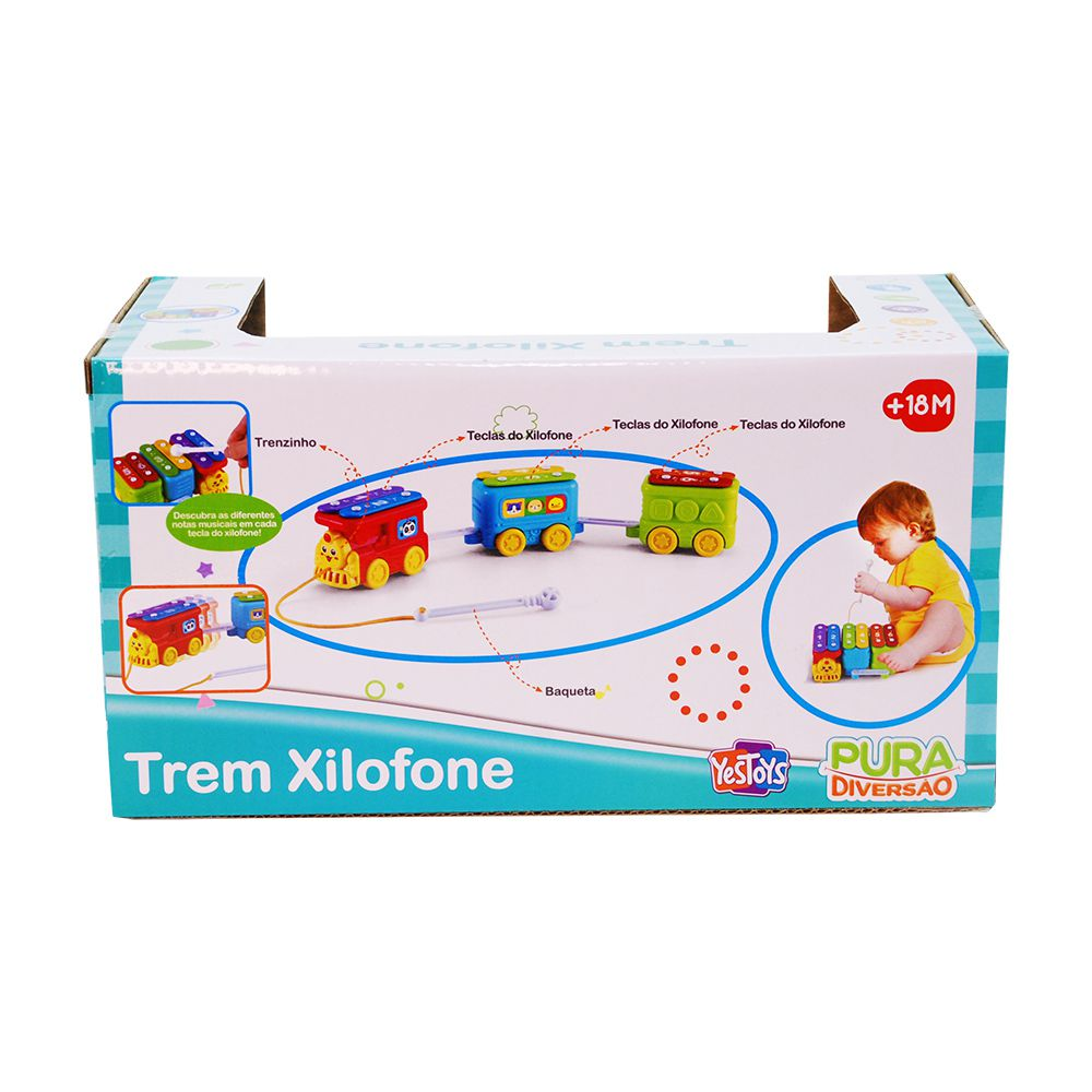 Trem Xilofone - YesToys
