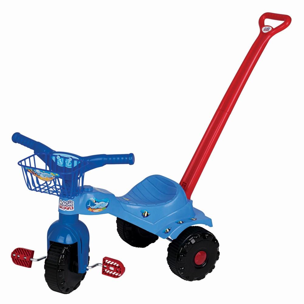 Triciclo Infantil - Tico-Tico  - Tubarão - Magic Toys