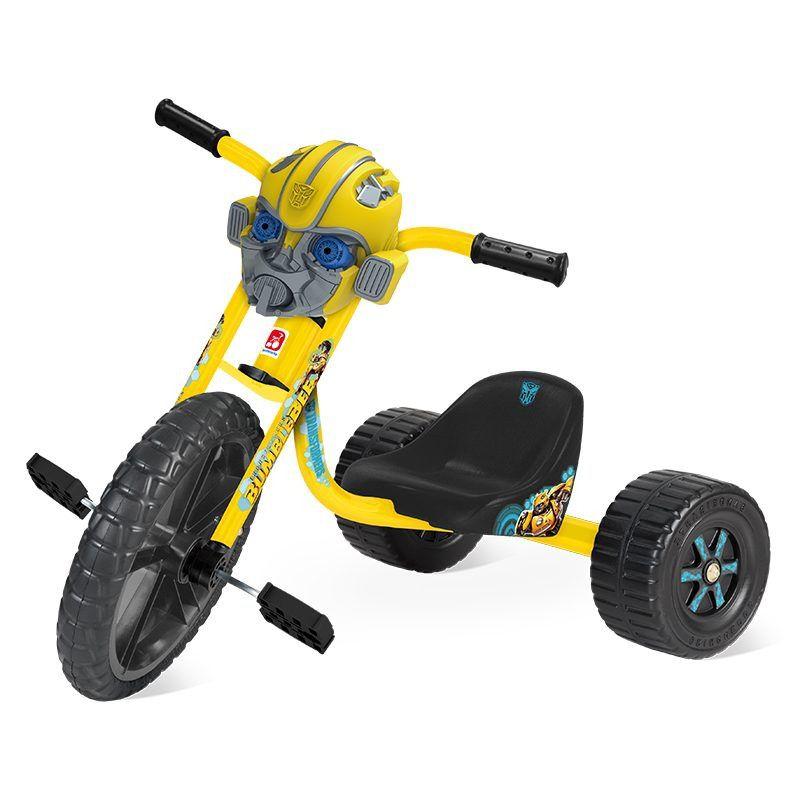 Triciclo Velotrol Transformers - com Máscara removível - Bandeirante