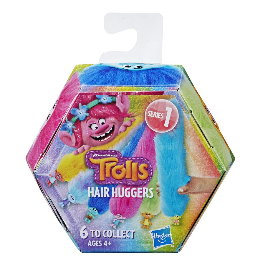 Trolls - Bracelete e Prendedor - Abraço Cabeludo - Hasbro