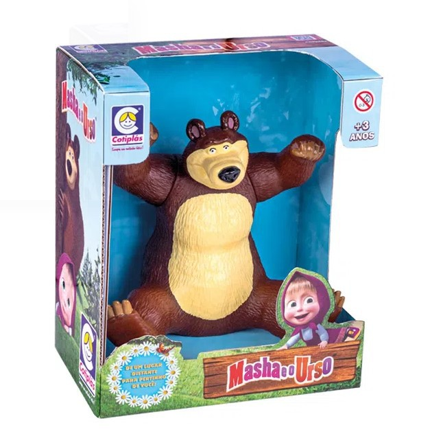 Urso da Marsha - Cotiplás