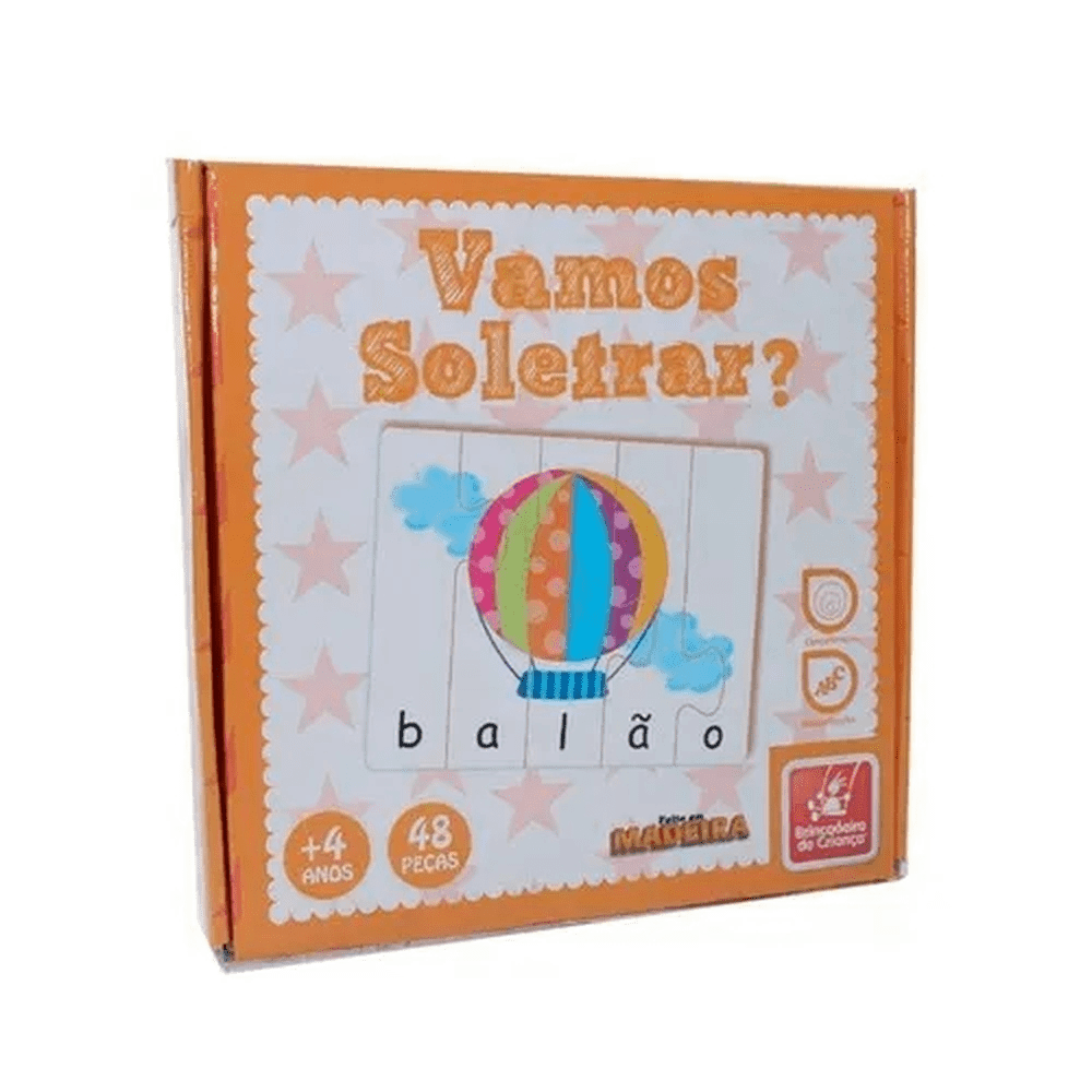 Vamos Soletrar - Brincadeira de Criança