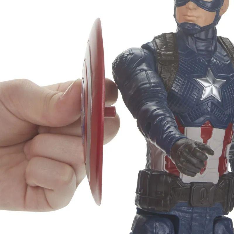 Boneco Capitão America - Vingadores Ultimato - Power FX - Hasbro