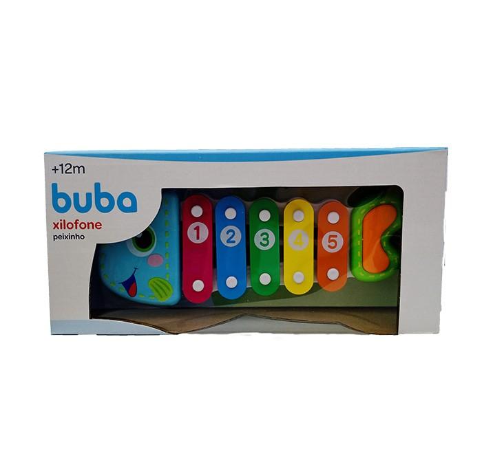Xilofone Peixinho Colorido - Buba