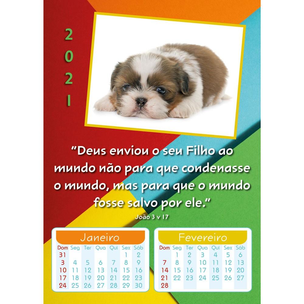 CALENDÁRIO INFANTIL 8 PÁGINAS 2021