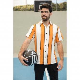 Camisa de Botão Listrada Nemo