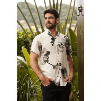 Camisa Orquídeas