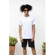 Camiseta Básica Slim Fit Branca