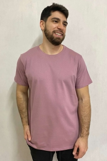 Camiseta Estonada Básica Rosê