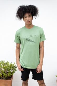 Camiseta de Linho Encontros