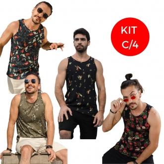 Kit Regatas Tamanho P