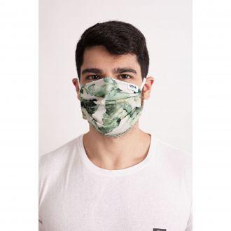 Máscara Estampa Bananeira