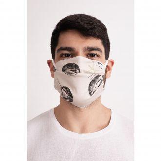 Máscara Estampa Coco Tropical