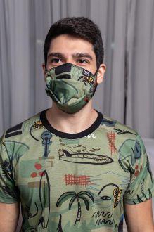 Máscara Estampa Bossa Nova