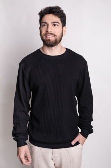 Suéter Preto George Michael
