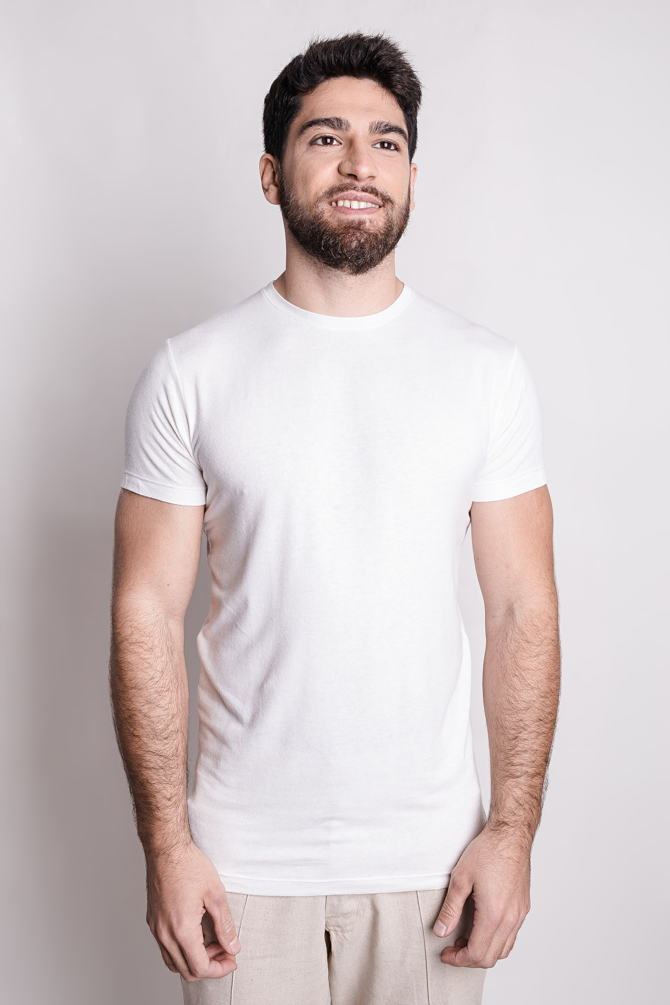 Camiseta de Linho Básica