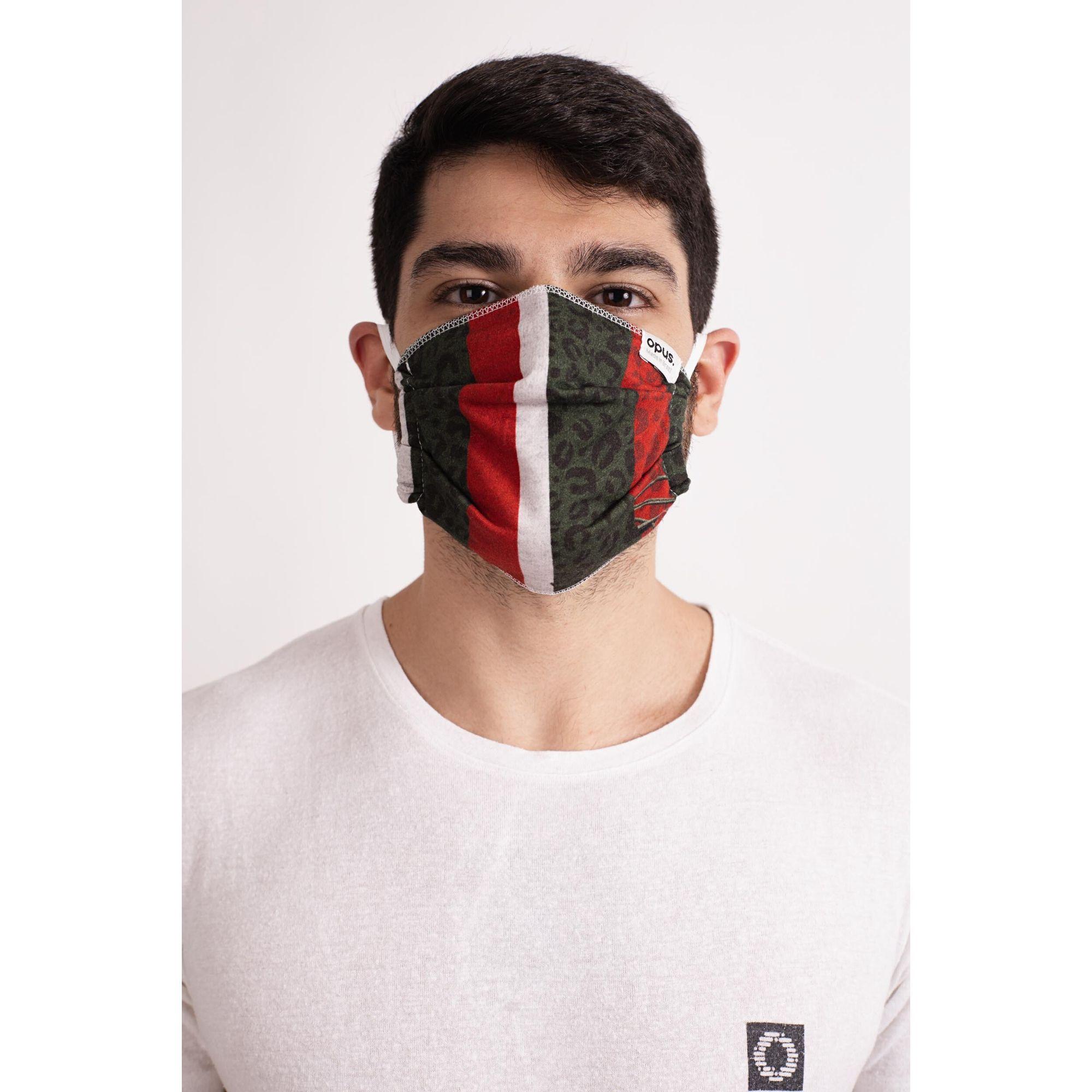 Máscara Estampa Animal Print