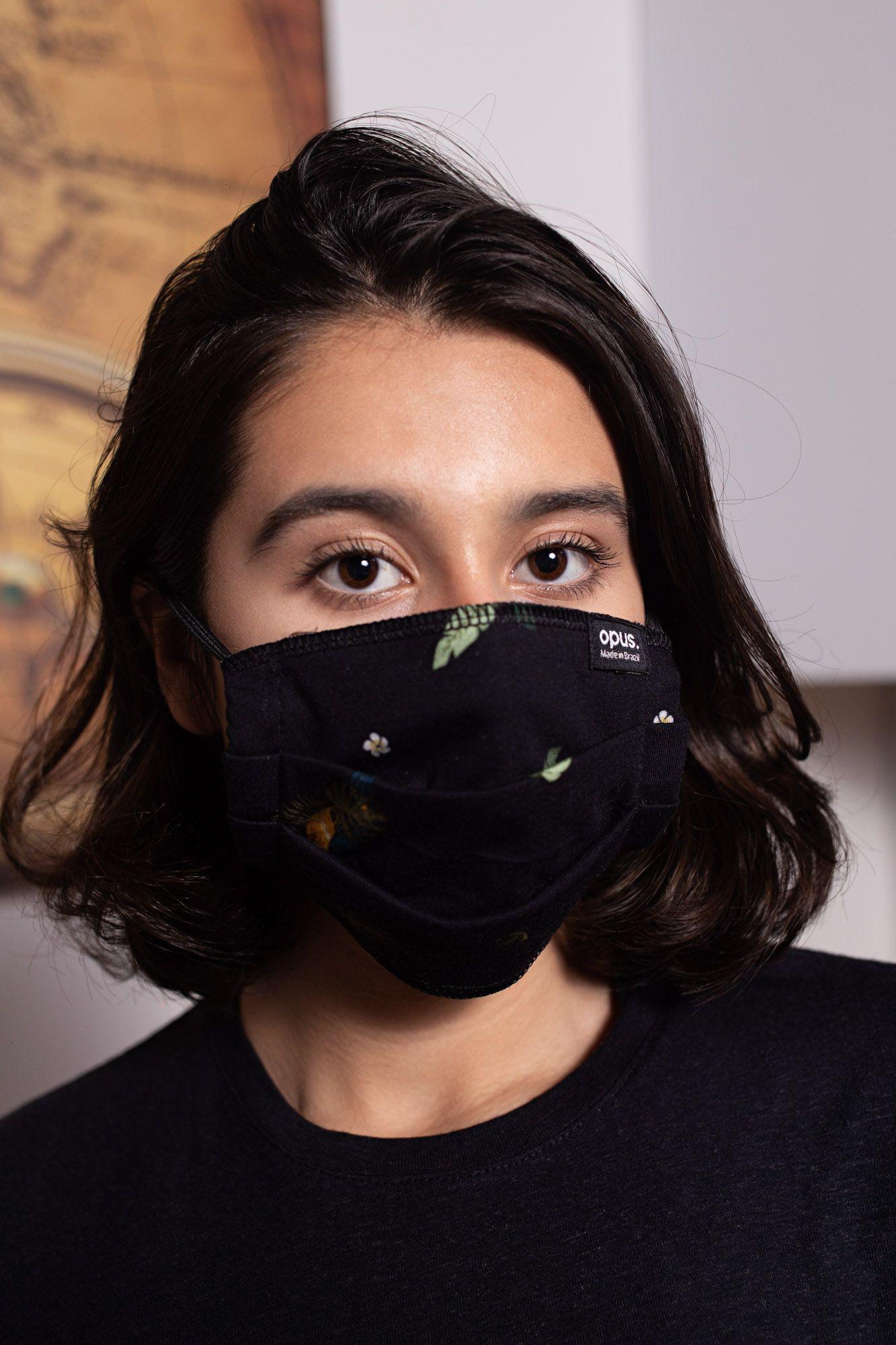 Máscara Estampa Tucanos