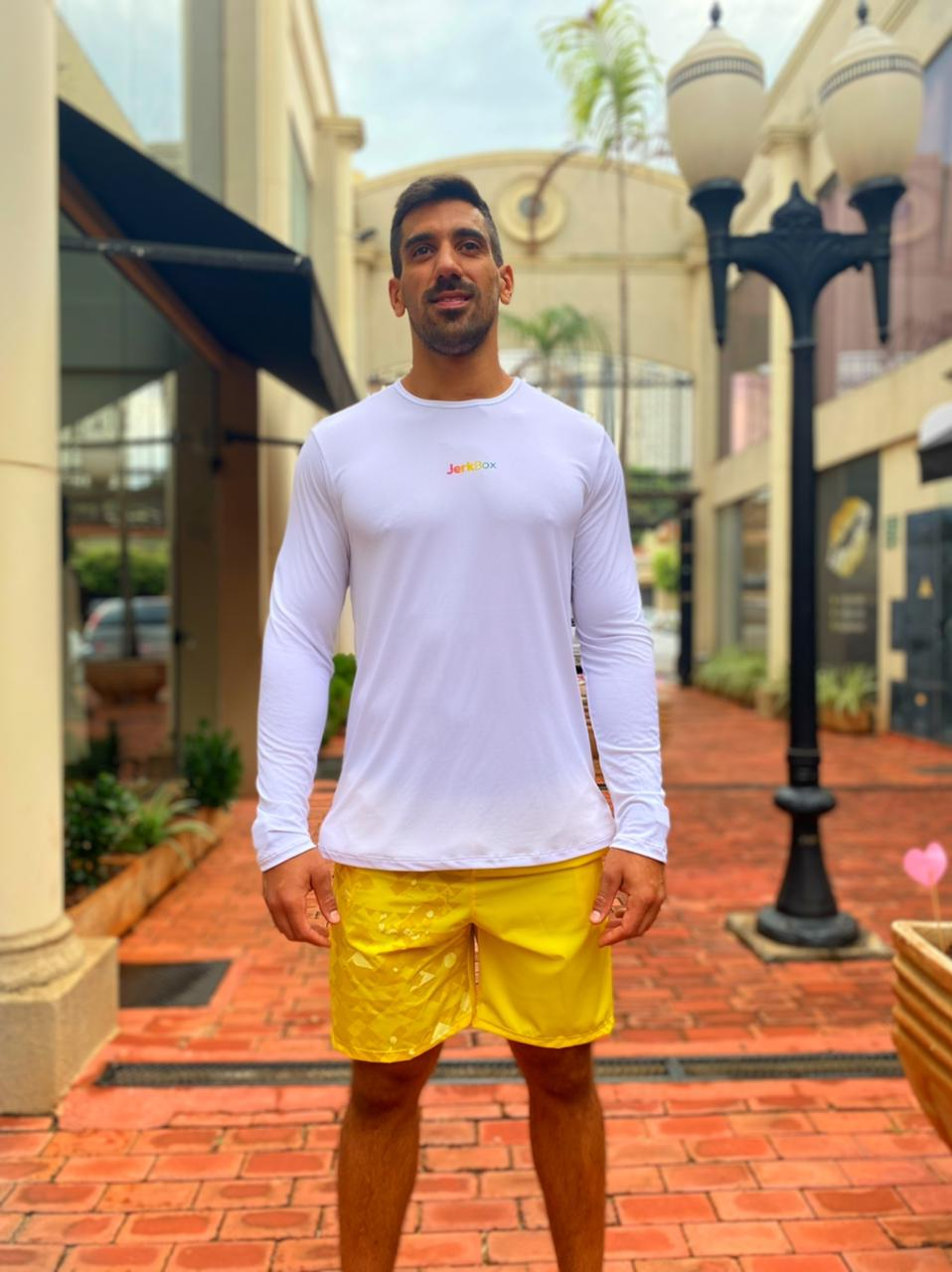 Bermuda Energy Amarela Estampada