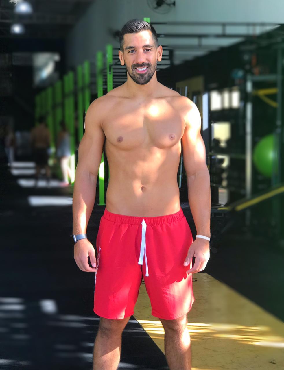 Bermuda Workout 2.0 Vermelha