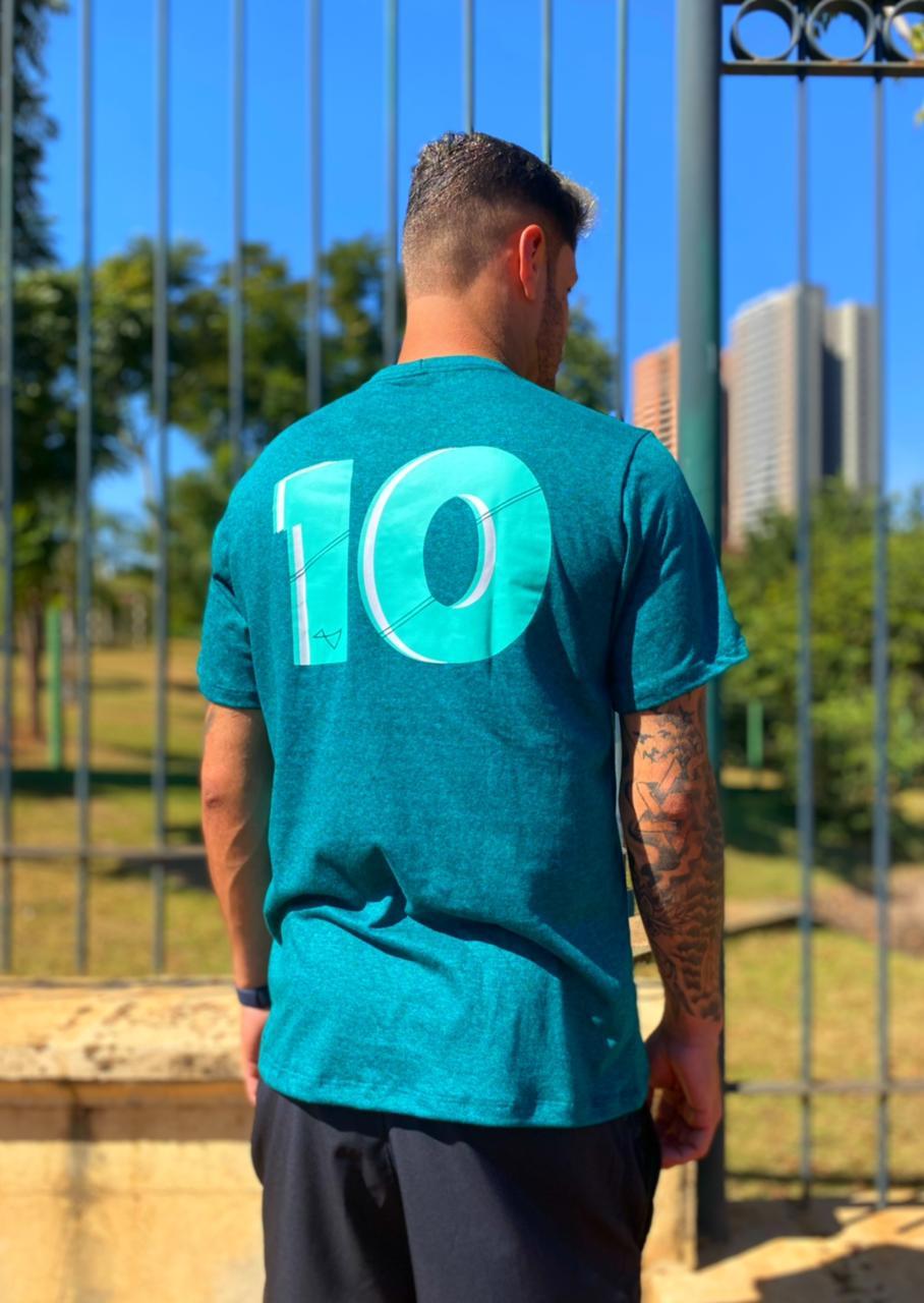 Camiseta 10 Verde Mescla