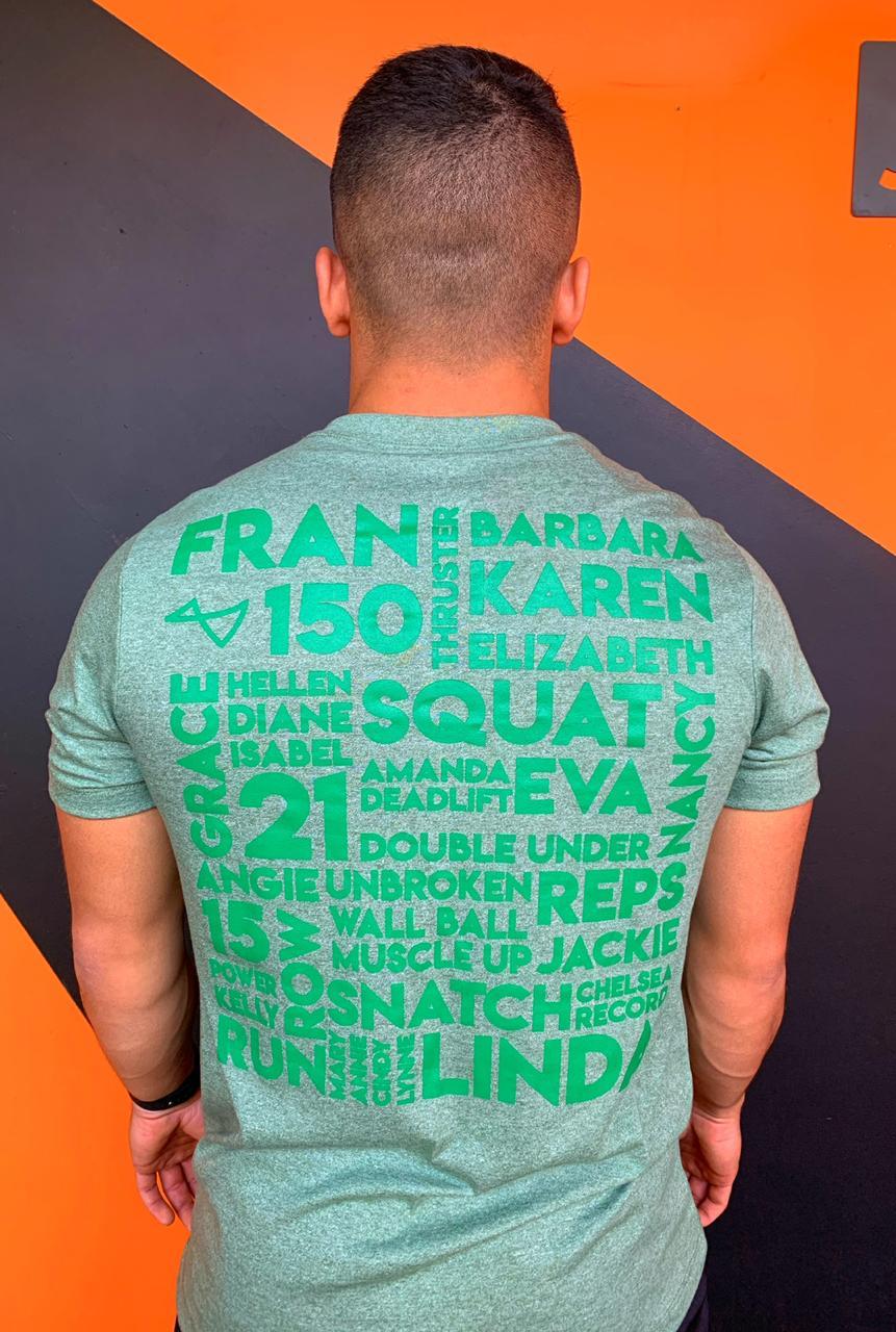 Camiseta Benchmark Verde