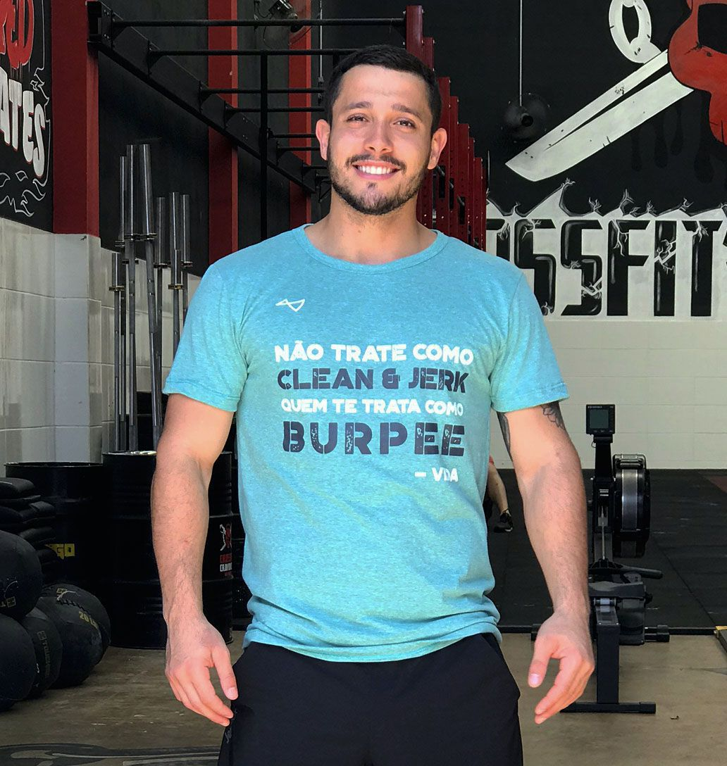 Camiseta Clean e Jerk - @essewodfoilouco