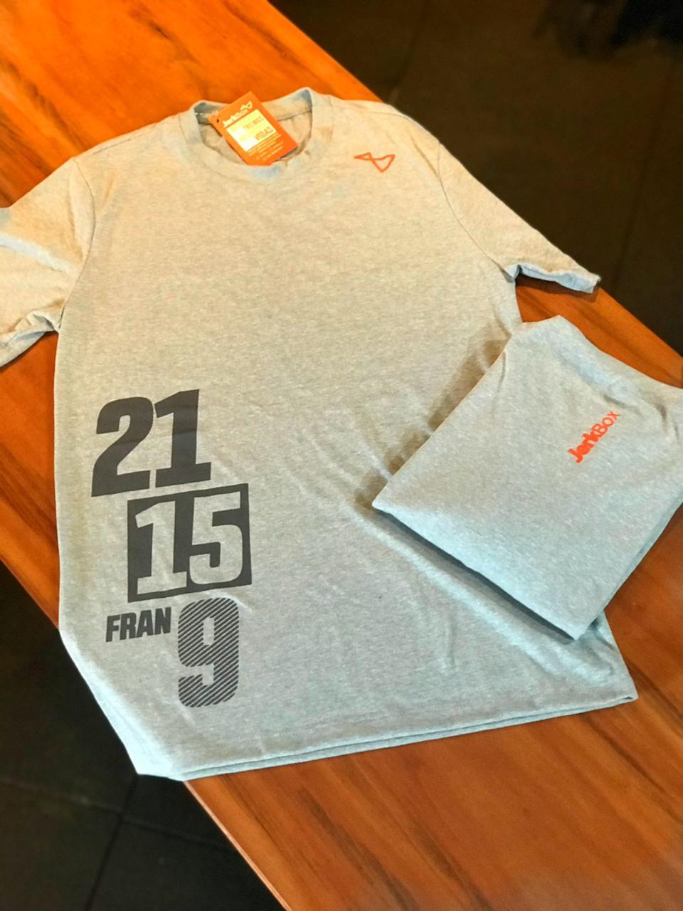 Camiseta Fran 21 15 9 Mescla Claro