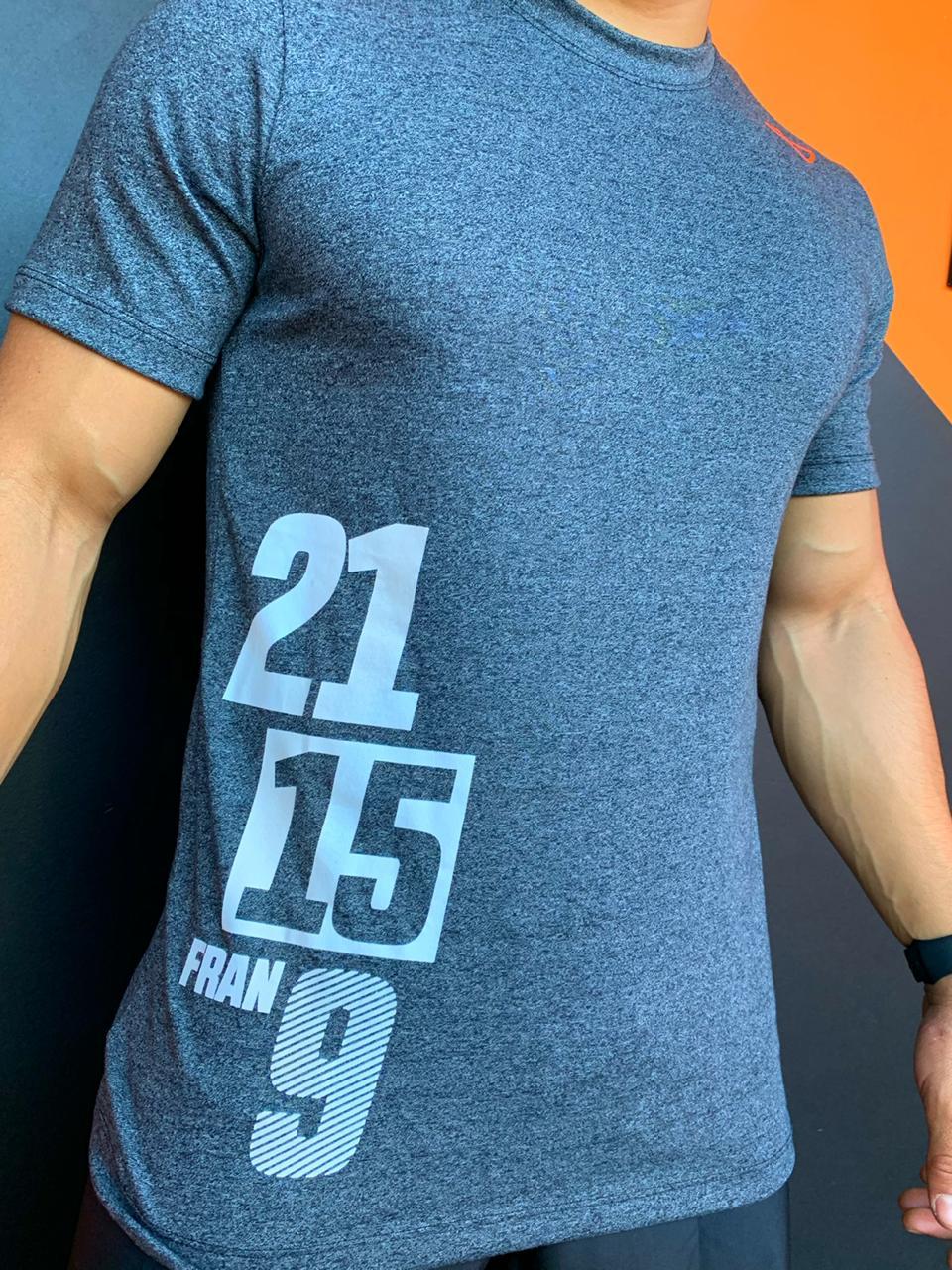 Camiseta Fran 21 15 9 Mescla Escuro
