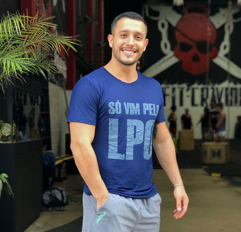 Camiseta  LPO Azul Marinho