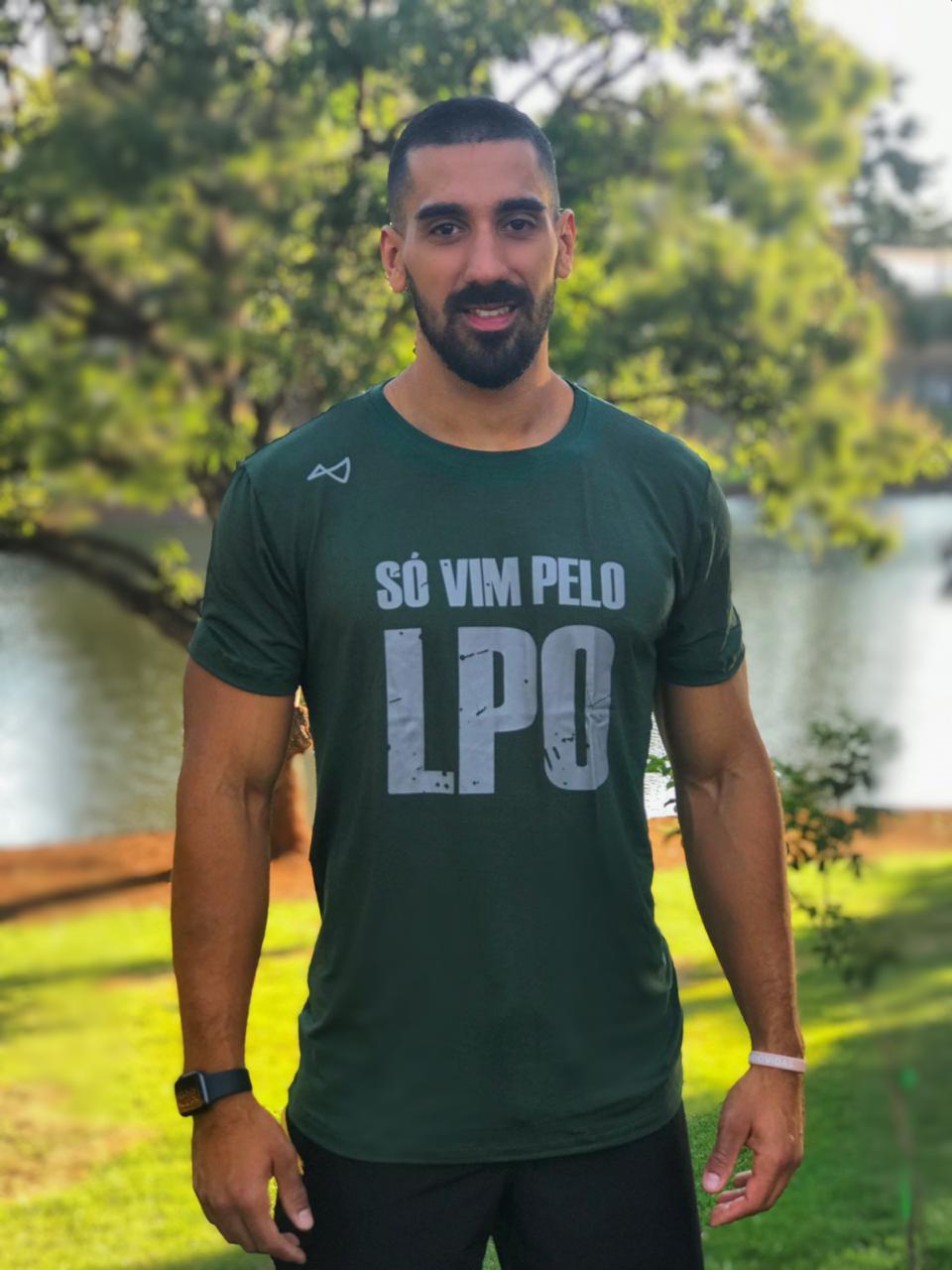 Camiseta  LPO Verde Militar