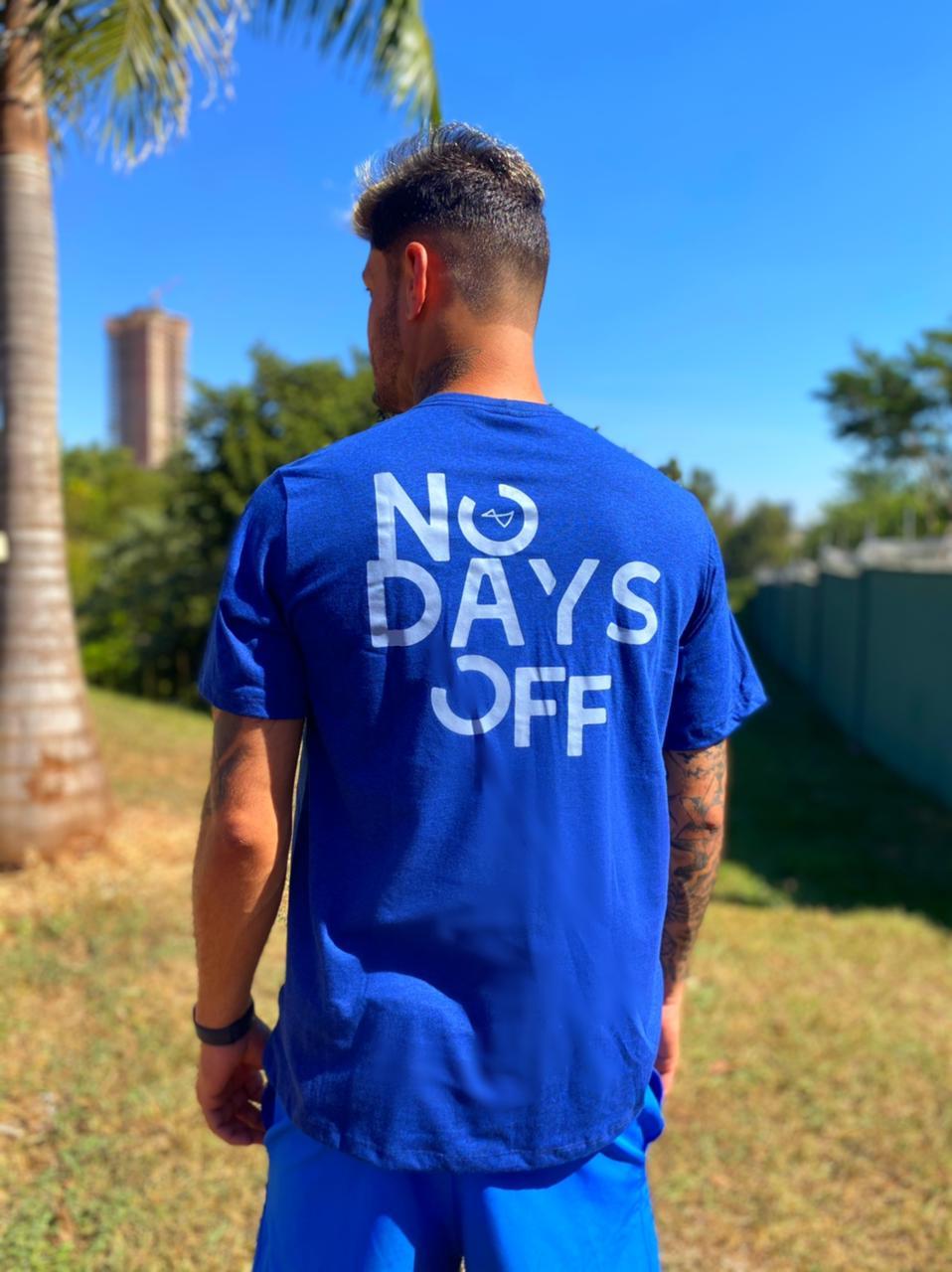 Camiseta No Days Off Azul