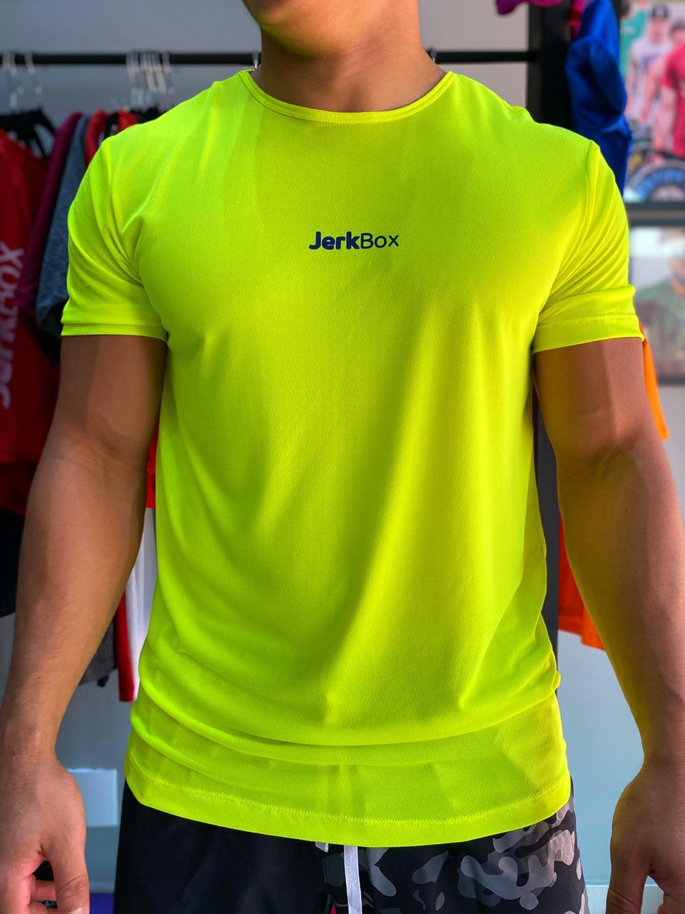 Camiseta  Soft Amarelo Neon