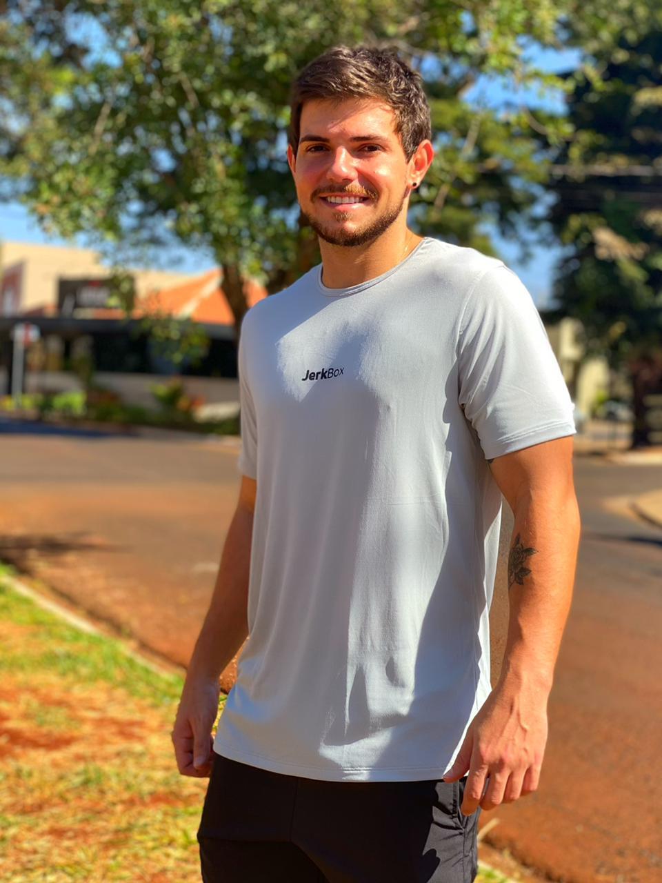 Camiseta  Soft Cinza