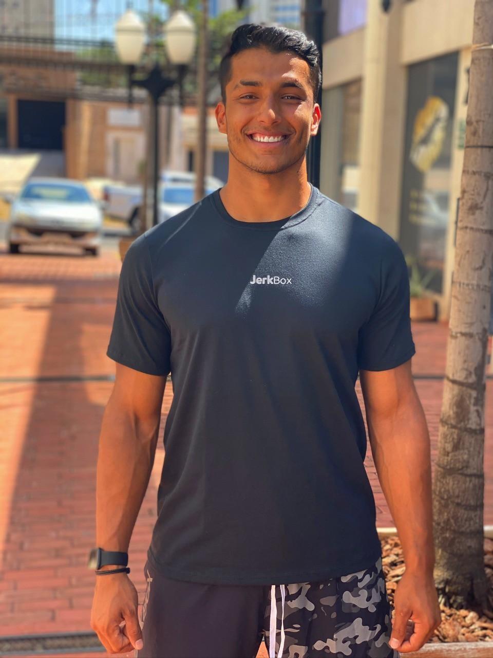 Camiseta  JerkBox Preta