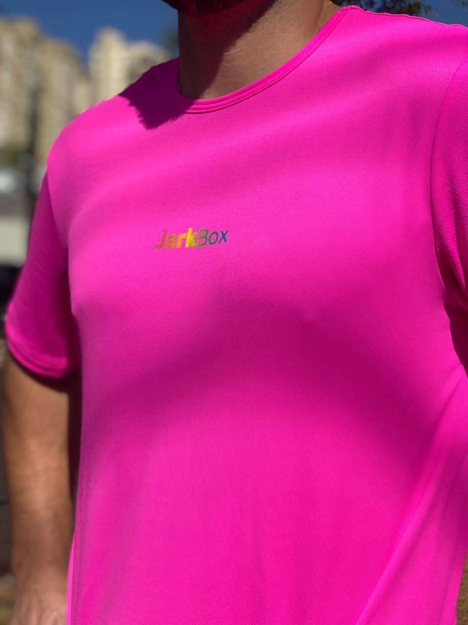 Camiseta  Soft Rosa Neon