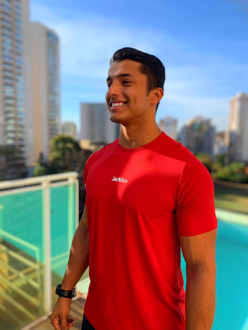 Camiseta  Soft Vermelha