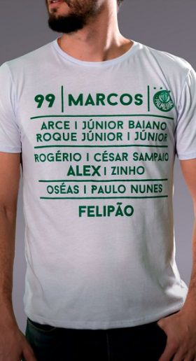 Camiseta Time Palmeiras