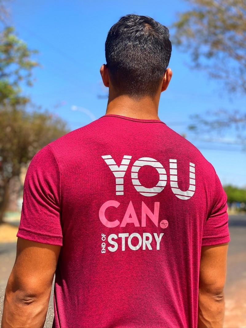 Camiseta You Can Rubi Mescla