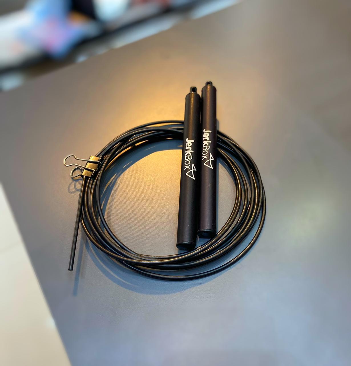 Corda Speed Rope JerkBox Preta