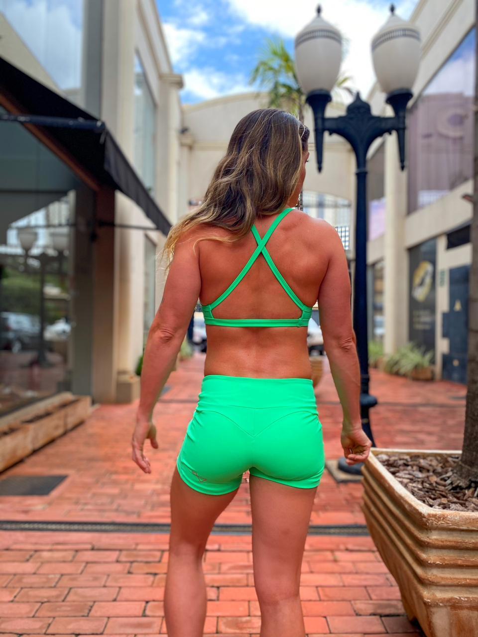 Short Round Verde Cancun