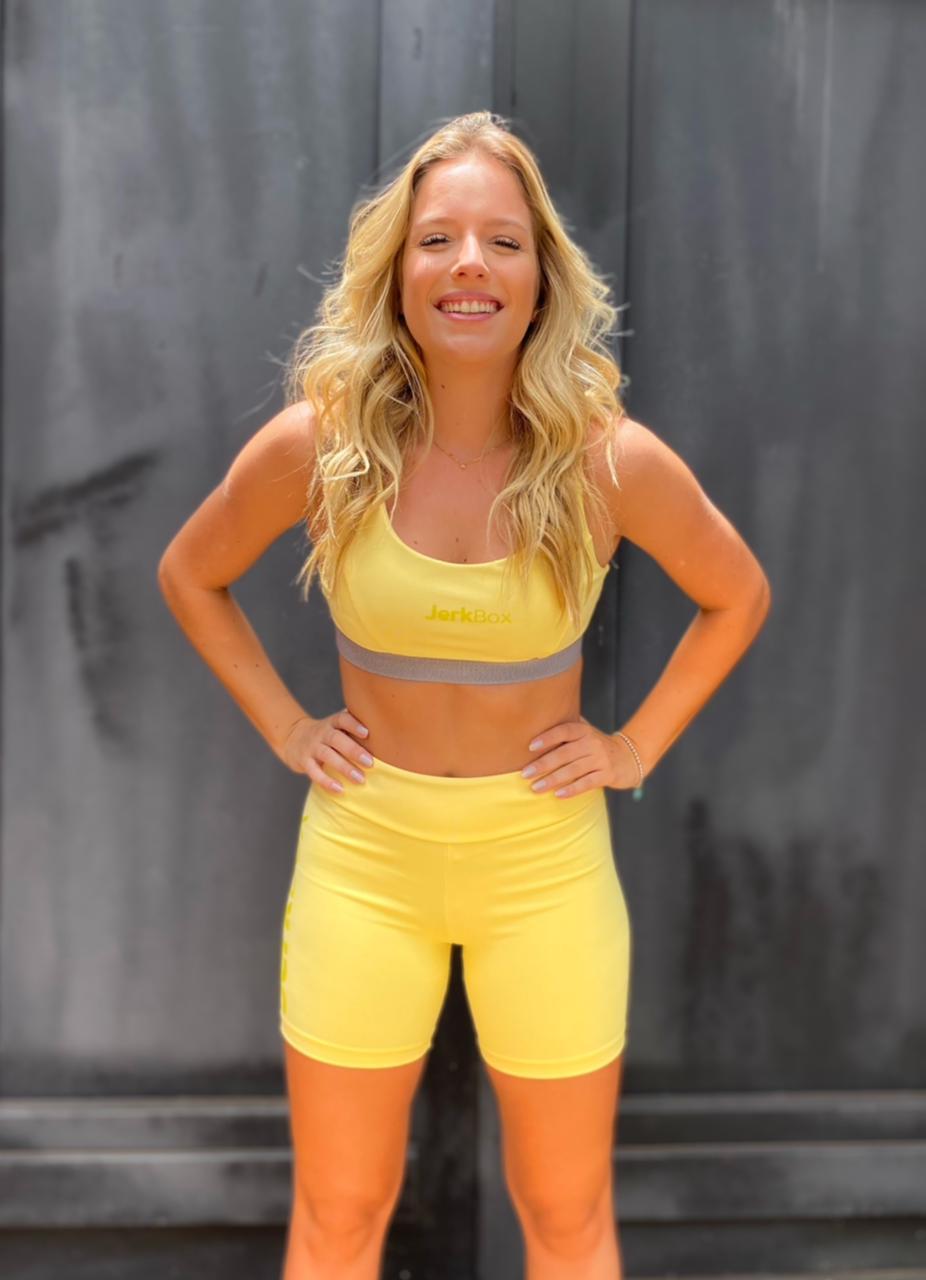 Top Dafne Amarelo Candy Color