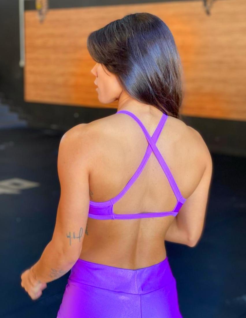 Top Jac Púrpura Glow