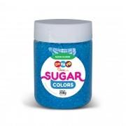 Açúcar Colorido Sugar Colors Azul 200g